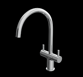 Dual Lever Kitchen Sink Mixer tap