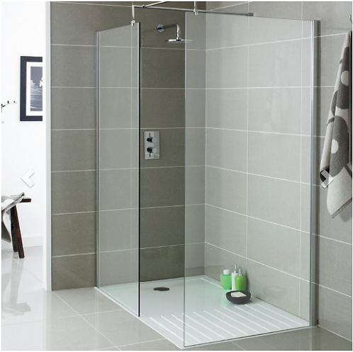 Koncept Wet Room Screen - 800mm