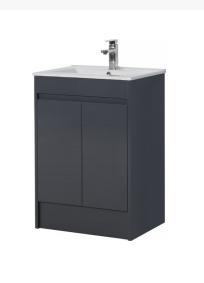 Dark Grey Basin - Icladd Solid PVC Furniture