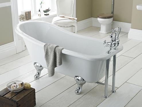 Oakwood 1700 Slipper Freestanding Bath (excludes leg sets)