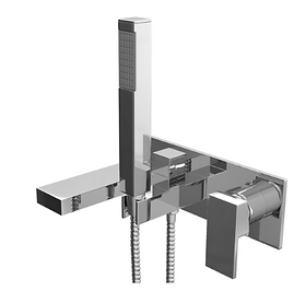 FORM WALL MOUNTED BATH SHOWER MIXER TAP