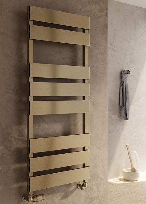 FERMO TOWEL RAIL SATIN BRONZE 710 x 480