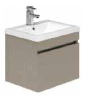 1 Drawer Wall Hung Basin Unit And Basin