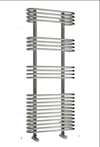 MIRUS 500 X 900 CHROME TOWEL RADIATOR