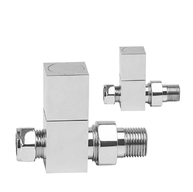 RICHMOND STRAIGHT BRUSHED RADIATOR VALVES