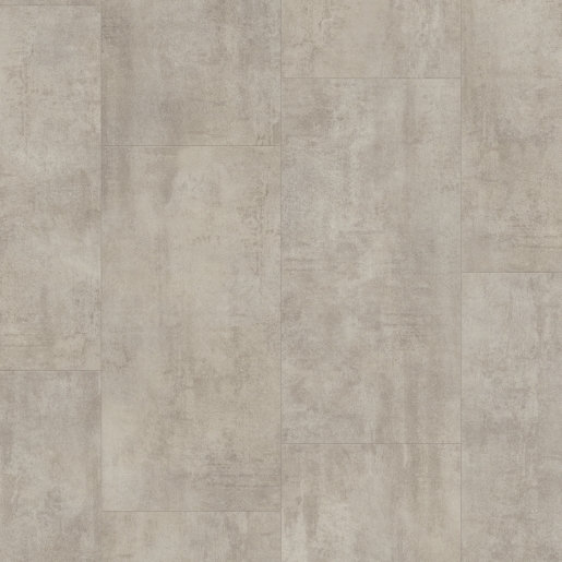 Quick Step: Light Grey Travertine Ambient Vinyl Flooring Tiles