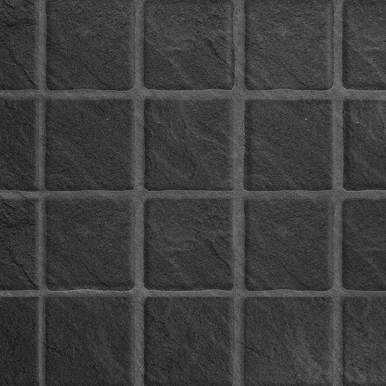 Multipanel Tilepanel Embossed Black Slate Small Gloss 7146S