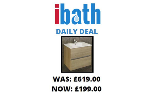 DEAL OF THE DAY: British made 2 door vanity set