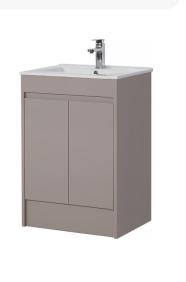 Stone Grey Basin - Icladd Solid PVC Furniture