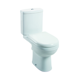 Ivo Close Coupled D Shaped Pan & Cistern