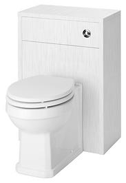 500 WC Unit Porcelain White Ash