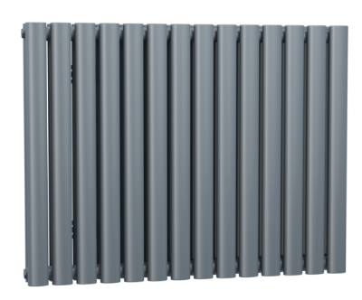 ANTHRACITE CELLSIUS DESIGNER RADIATOR 633X826X78MM