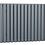 Thumbnail: ANTHRACITE CELLSIUS DESIGNER RADIATOR 633X826X78MM