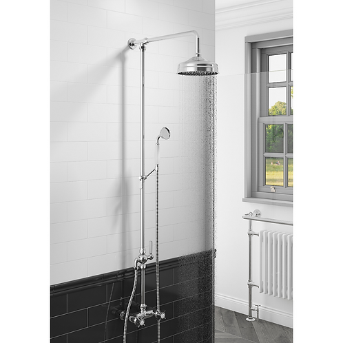 Damson Traditional Rigid Rise Kit with Shower Valve