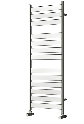 CARPI 300 X 800 CHROME TOWEL RADIATOR