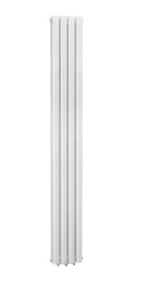 WHITE CELLSIUS DESIGNER RADIATOR 1800X236X78MM