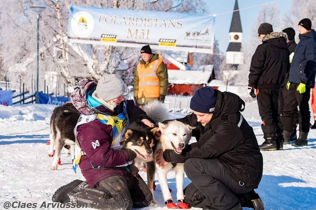 Singi ledde spannet i mål på Polardistans 2020