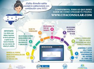 """Plataforma: """"Cita Consular"""""""