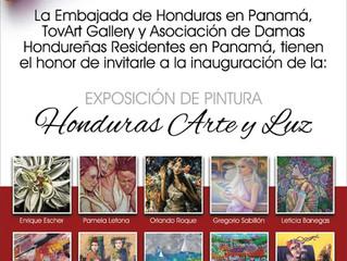 """EXPOSICION DE PINTURA """"HONDURAS, ARTE Y LUZ"""""""