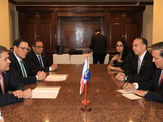 Reunión Bilateral entre Honduras y Panamá a nivel de presidentes.