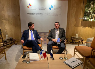 Encuentro Bilateral Honduras  - Panamá