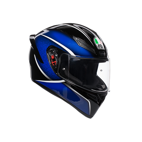 Moto helma AGV K1 MULTI ECE2205 - QUALIFY BLACK/BLUE