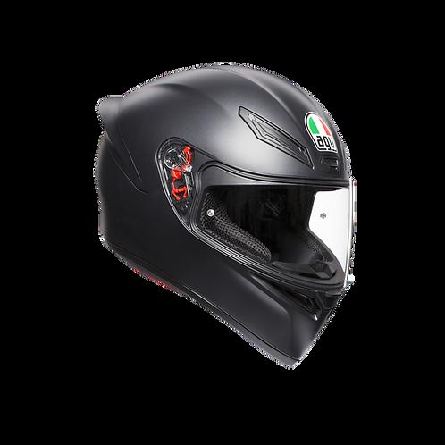 Moto helma AGV K1 MONO ECE2205 - MATT BLACK