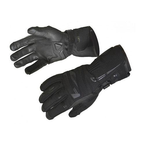 Textilné rukavice SPARK Globe, čierne