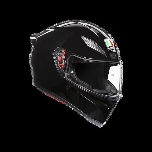 Moto helma AGV K1 MONO ECE2205 - BLACK