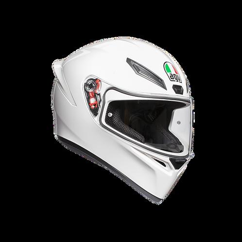 Moto helma AGV K1 MONO ECE2205 - WHITE