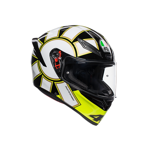 Moto helma AGV K1 TOP ECE2205 - GOTHIC 46 BLACK