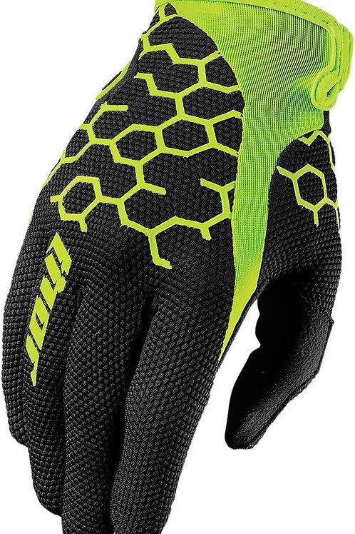 Motocrossové rukavice THOR Draft, čierne