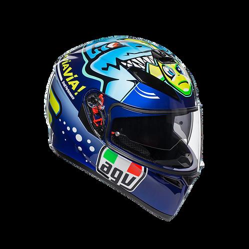 Moto helma AGV K-3 SV E2205 TOP - ROSSI MISANO 2015