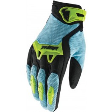 Motocrossové rukavice THOR Spectrum, modré