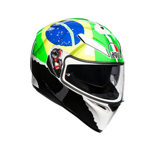Moto helma AGV K-3 SV E2205 REPLICA - MORBIDELLI 2017