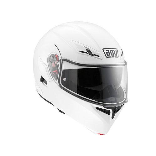 Moto helma AGV COMPACT ST E2205 MONO - WHITE
