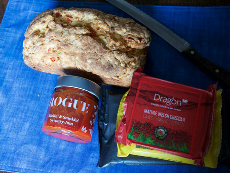 Kickin' & Smokin' Red Pepper & Leek Loaf