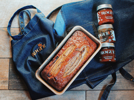 Dark & Stormy Banana Bread