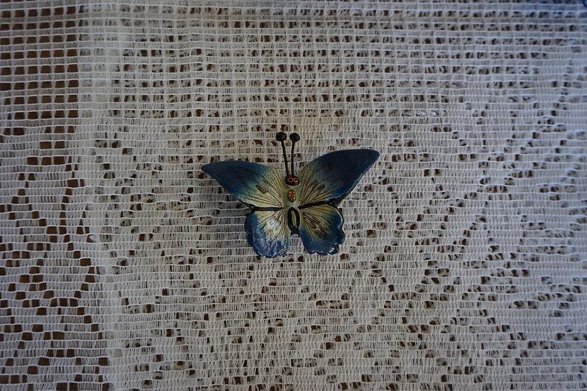 Mariposas a base de barro