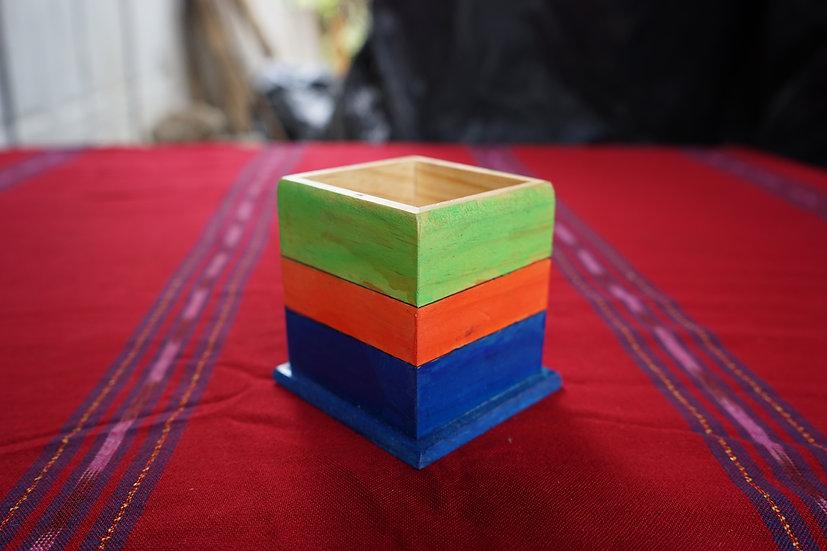 Caja en madera