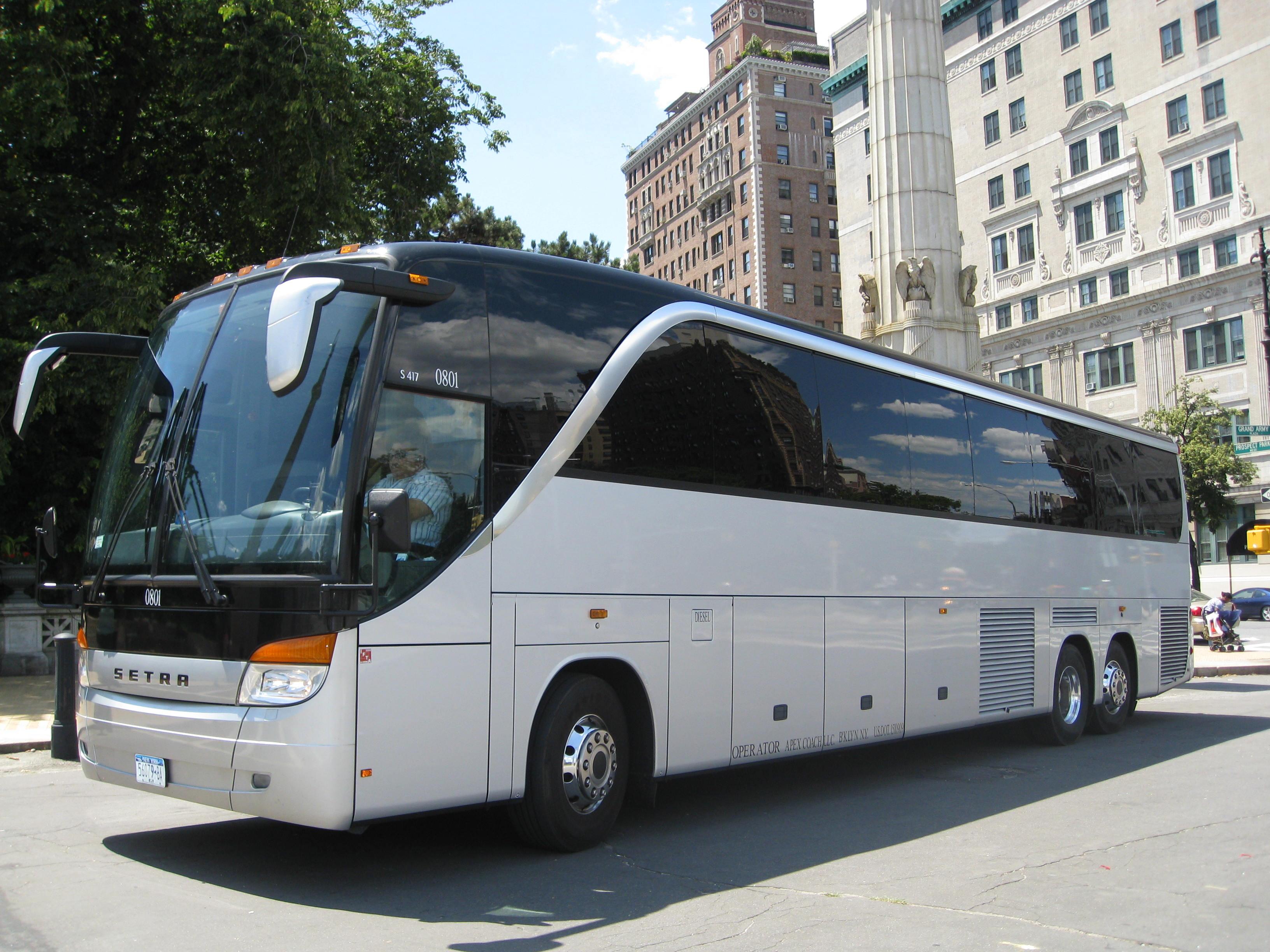 50-56 passenger Coach Bus