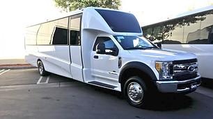 Luxury 24-40 passenger Executive VIP Minibus Shuttle Bus