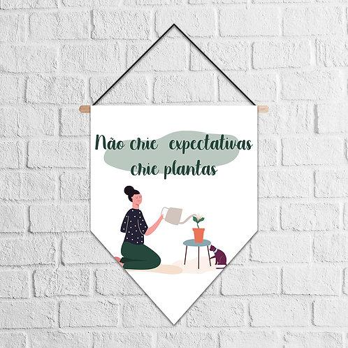 Flâmula crie plantas