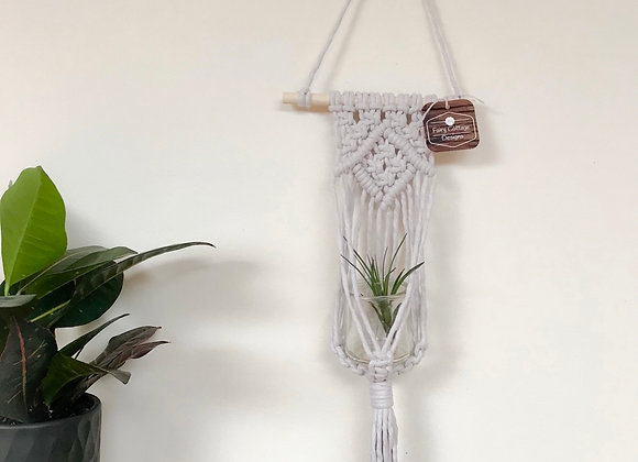 Macrame Plant hanging with Air plant