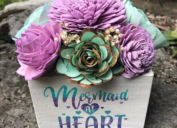 Mermaid At Heart Sola Wood Flower Arrangement