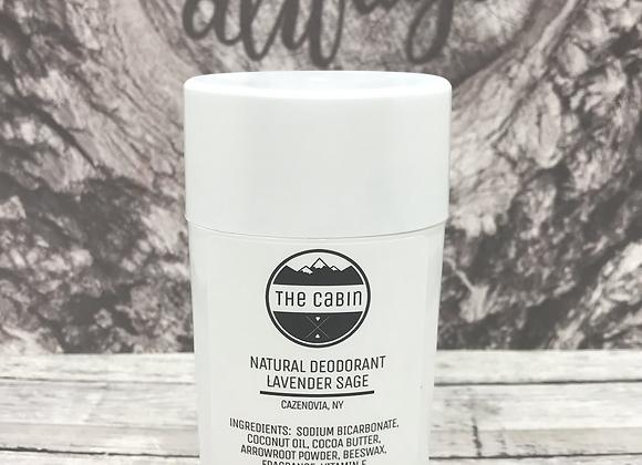 Lavender Sage Natural Deodorant 3.95 oz