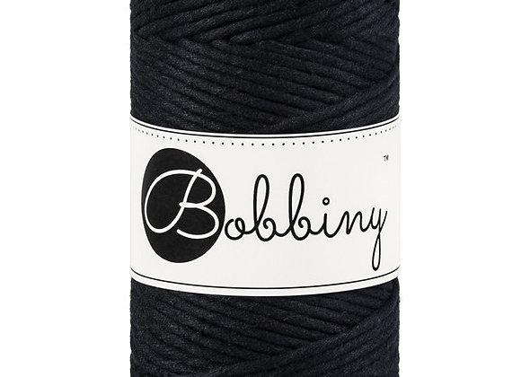 Bobbiny Black 3mm Macramé Cord 100m/108yds