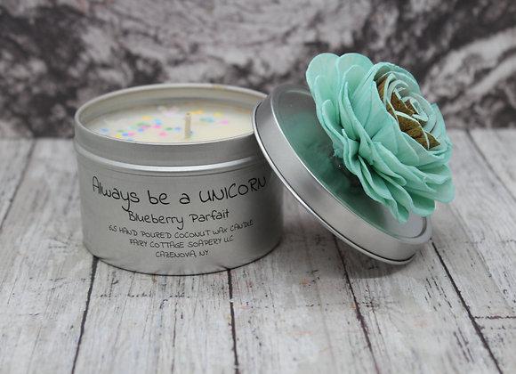 Always Be A Unicorn Coconut Wax Candle 8 oz