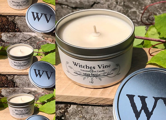 Witches Vine Coconut Wax Intention Candle 8 oz