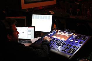 Audio visual technical services, technicians